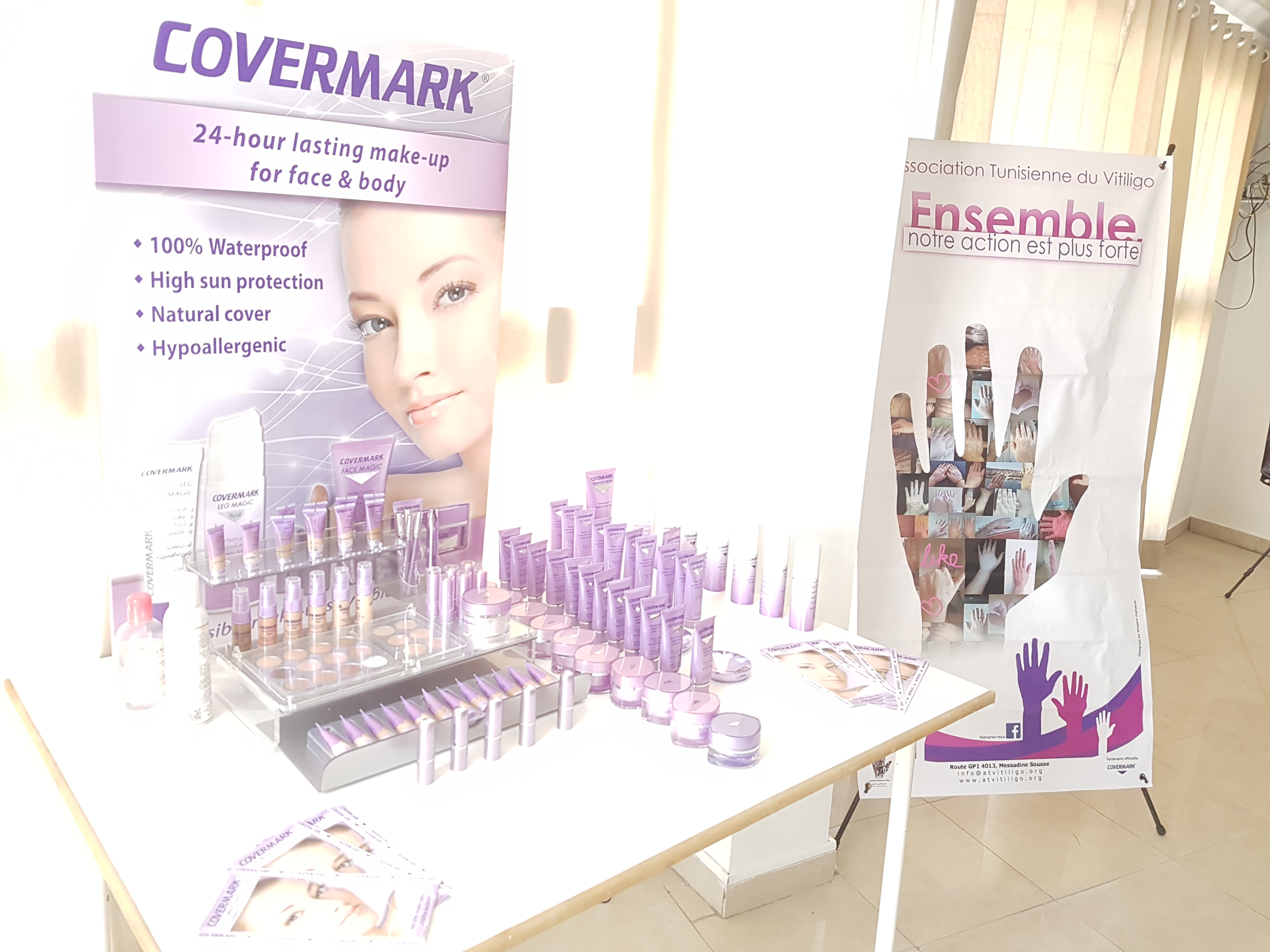 Atelier de maquillage correcteur