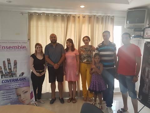 Au siège de l'association Tunisienne du Vitiligo, le 27 Août 2016